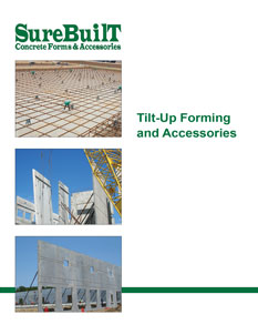 Tilt Up Concrete Construction Forming and Panel Lifting Hardware