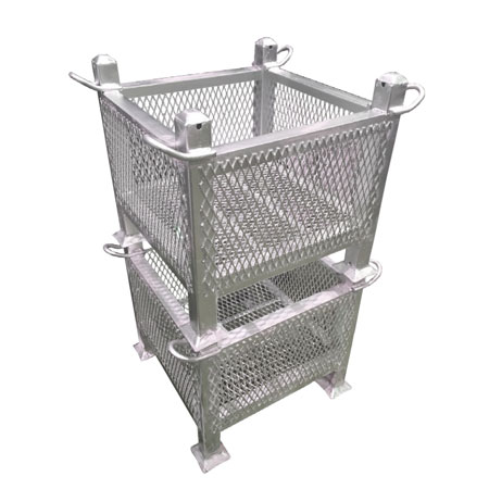 Wire Mesh Steel Containers