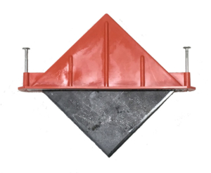 The size and diamond-shape of the Taper Dowel provides joint stability, load transfer and smooth slab-to-slab transition, without restraining floor movement.