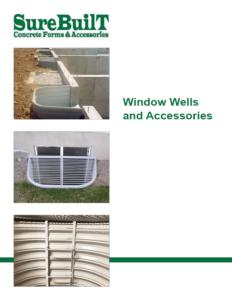 Window Wells, HD Egress Ladders, Grates