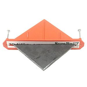 Diamond shaped taper dowel for concrete floors and joint systems