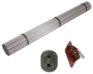 SureBuilt Pencil Rod and Clamps for Concrete Forming