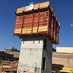 High rise cores quickly take shape with self-riser climbing formwork from SureBuilt