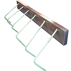 "The Staybox Rebar Splicing system is prebent rebar and a formed metal box that creates a single ""pull out"" bar assembly"