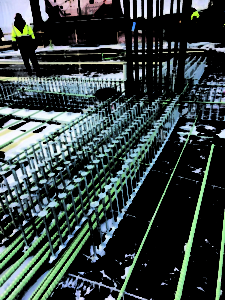 SureBuilt Stud Rail DSA Reinforcement - Javitis Center New York Construction Project