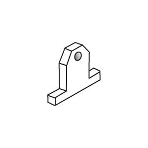 Base Tie Bolt for Concrete Forms