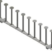 SureBuilt Stud Rail is a DSA reinforcement system, typically used for concrete deck-to-column connections