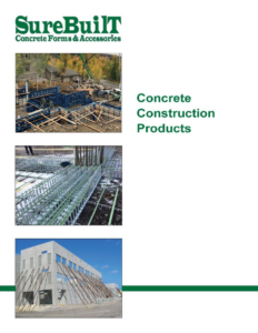 SureBuilt Concrete Construction Products Overview Brochure