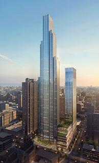 One Chicago SureBuilt Stud Rail DSA Concrete Construction Job